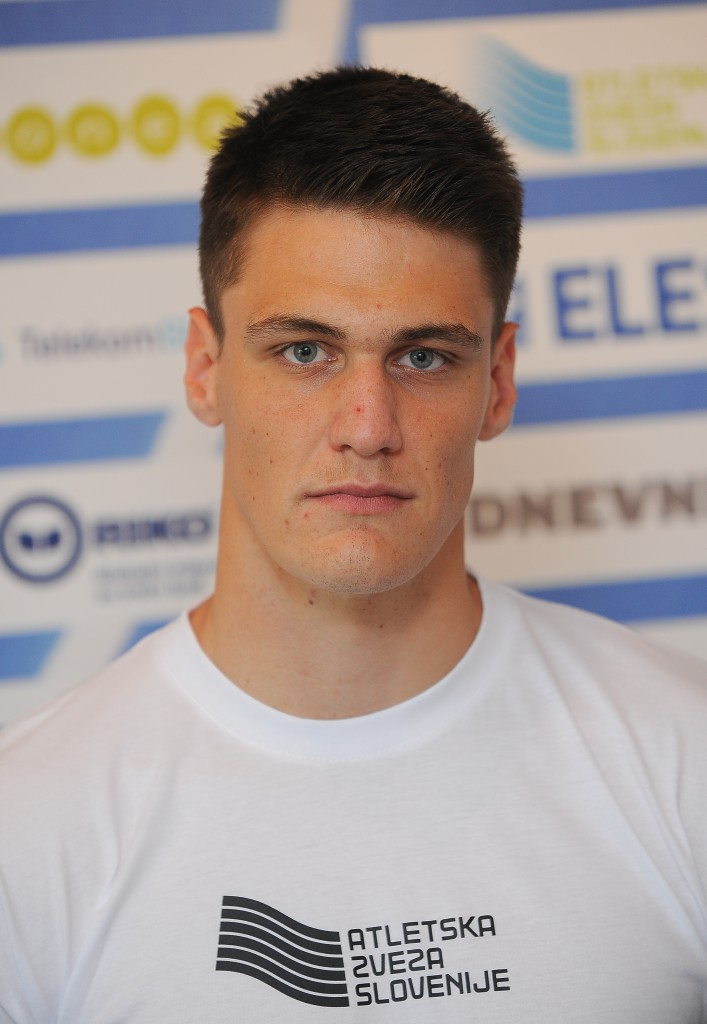 Athletics, Slovenia, Ljubljana, Press conference (Before European championship under 23), Blaz Marn, 06-Jul-2015, (Photo by: Grega Wernig / M24.si)