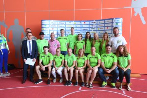 Athletics, Slovenia, Ljubljana, Press Conference & Presentation (Slovenian Athletics Association), , 29-Jun-2016, (Photo by: Arsen Peric / M24.si)